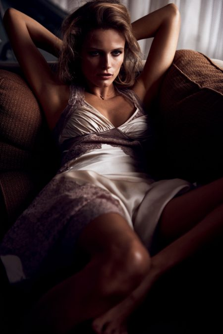 Edita Vilkeviciute Models Spring's Most Desirable Looks in Vogue Japan