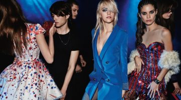 Sara Sampaio & Pyper America Smith Are Club Kids in Elisabetta Franchi's Fall Ads