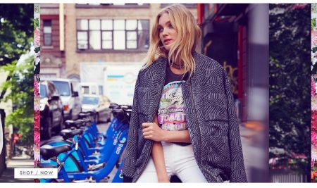 Elsa Hosk Has a Chic Summer Outing in the City for Free People