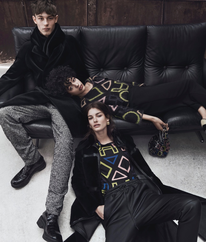 Emporio Armani Focuses on Bold Prints for Fall '16 Campaign