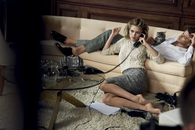 Hana Jirickova stars in Ermanno Scervino's fall-winter 2016 campaign