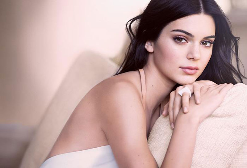 Kendall Jenner stars in Estee Lauder's Double Wear Nude Cushion Stick campaign
