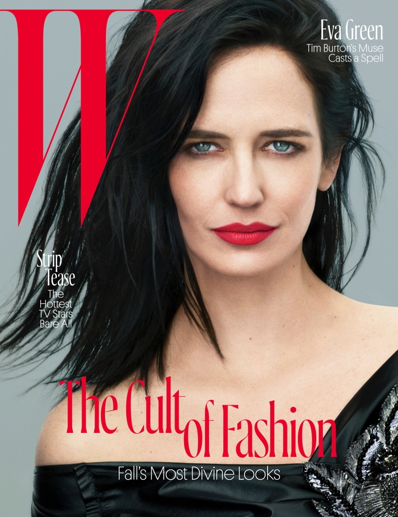 Eva Green on W Magazine August 2016 Cover