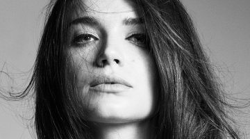 Eve Hewson Gets Her Closeup in Iris Covet Book