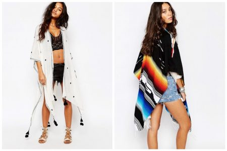 Cover Up in One of These Boho Chic Ponchos
