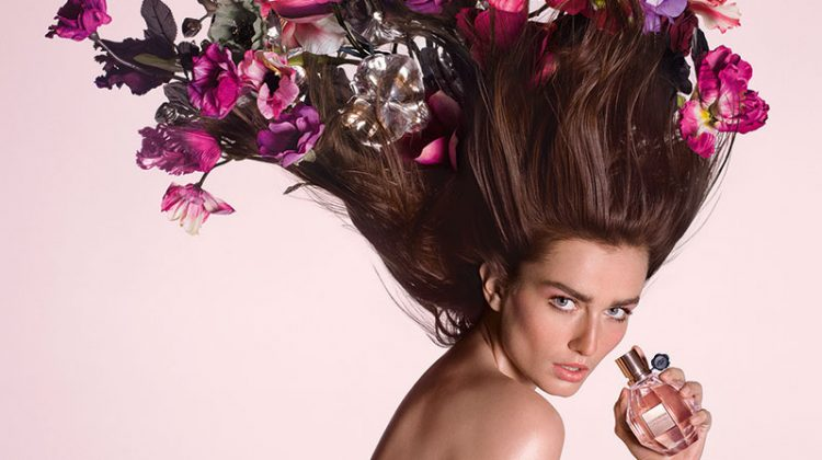 Viktor & Rolf's 'Flowerbomb' Campaign Gets a Face Lift
