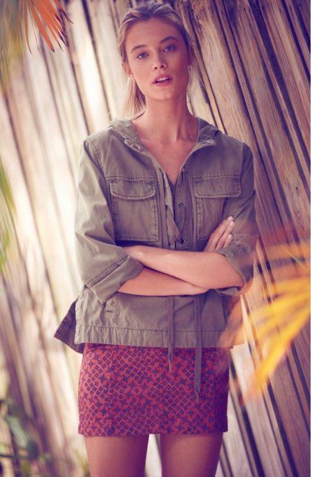 Barbara di Creddo Models Free People's Bohemian Summer Looks