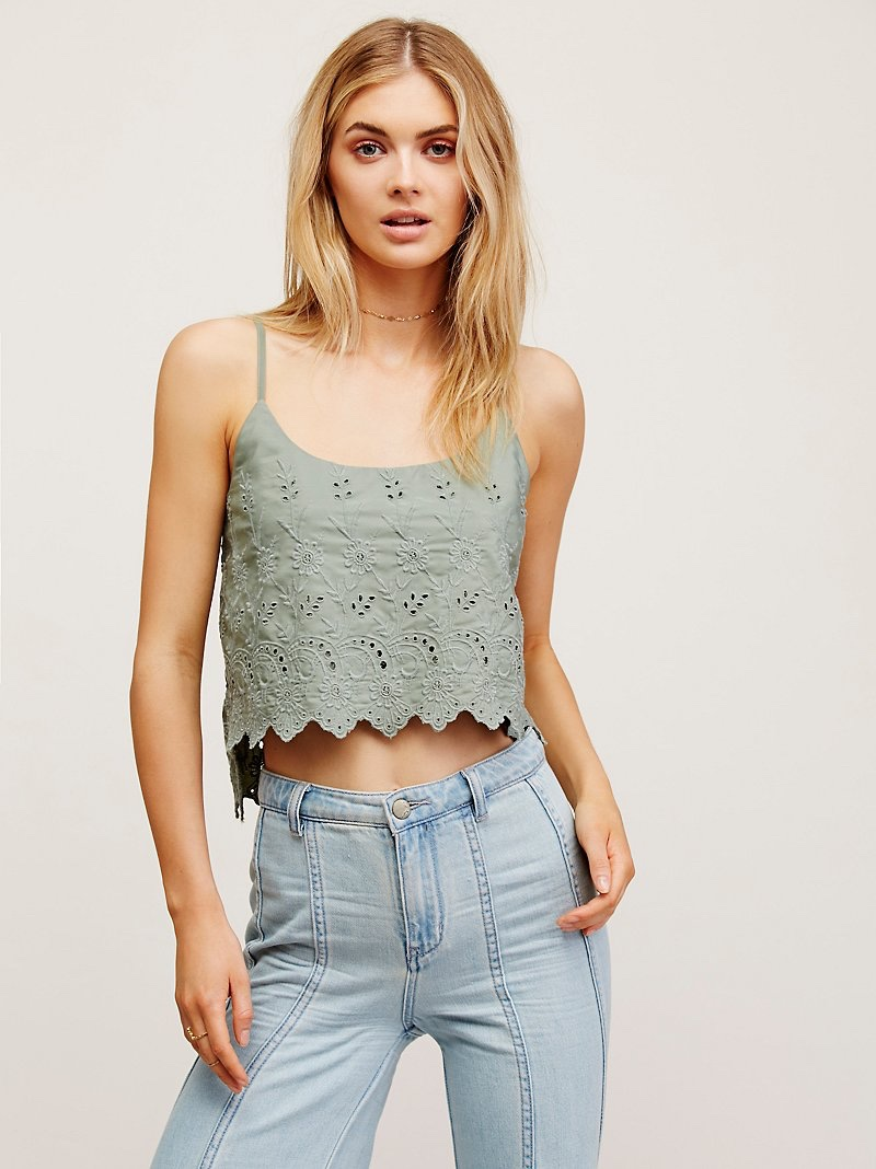 Free People Talula Brami Crop Top