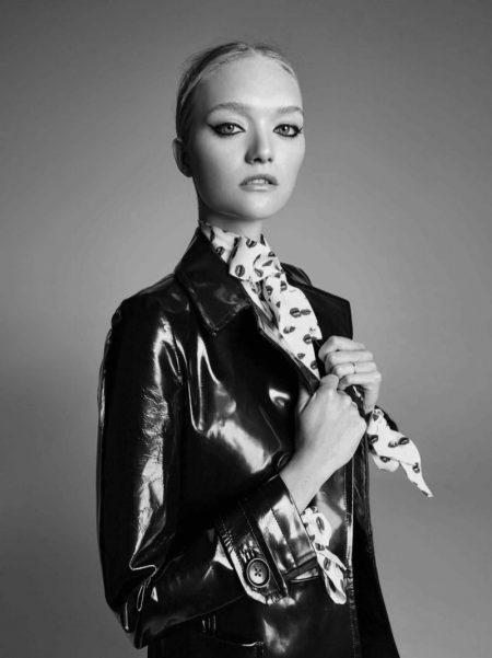 Gemma Ward Wows in Chanel Makeup Looks for ELLE Australia
