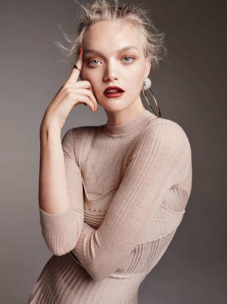 Gemma Ward Wows in Chanel Makeup Looks for ELLE Australia
