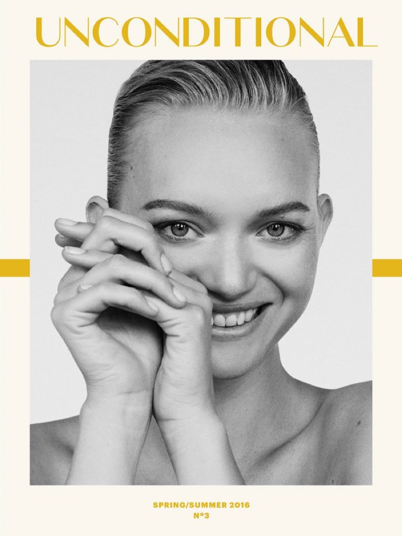 Gemma Ward on Unconditional Magazine Spring / Summer 2016 Cover