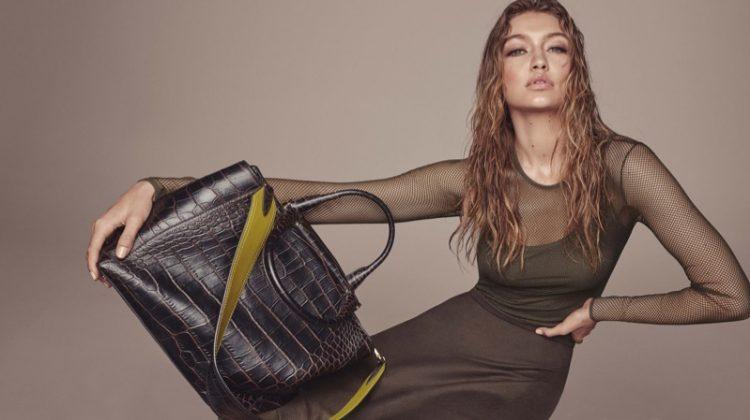 Gigi Hadid Serves Pure Glam in Max Mara's Fall Accessories Campaign