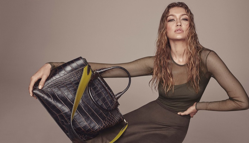 Gigi Hadid models the Max Mara JBag