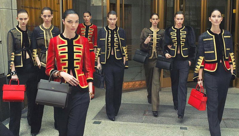 Givenchy unveils fall-winter 2016 campaign starring Bella Hadid, Mariacarla Boscono, Lily Aldridge and more models