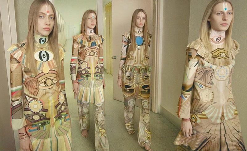 Odette Pavolva, Julia Nobis, Ally Ertel and Olivia Jones star in Givenchy's fall-winter 2016 campaign