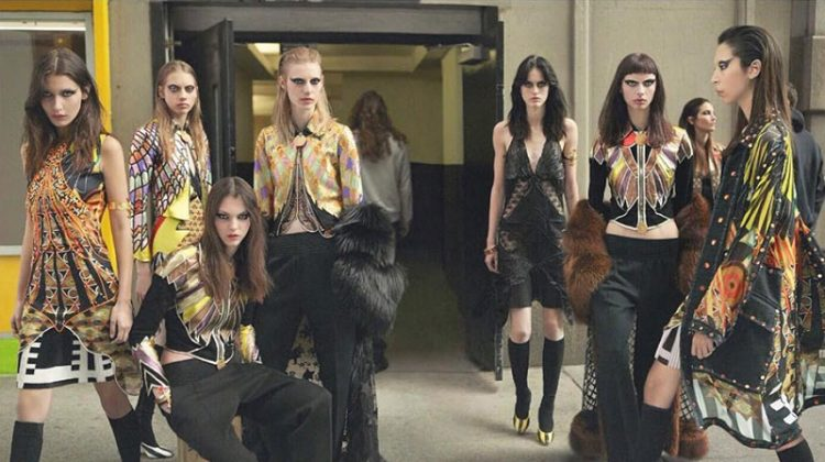 Givenchy Taps Top Models for Fall 2016 Campaign in New York