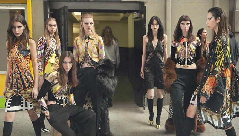 An image from Givenchy's fall-winter 2016 campaign