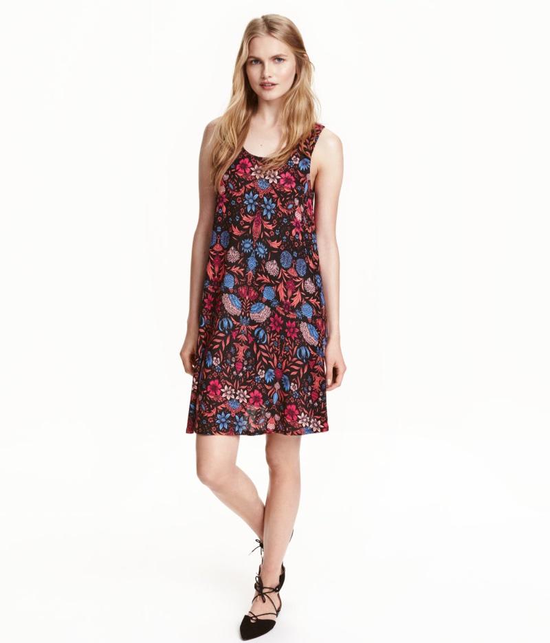 H&M Sleeveless Jersey Dress
