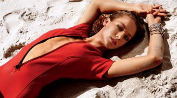 Hannah Ferguson is a Summer Babe in Ocean Drive Cover Story