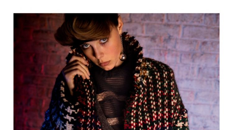 Edie Campbell Serves 80's Vibes in Isabel Marant's Fall Campaign