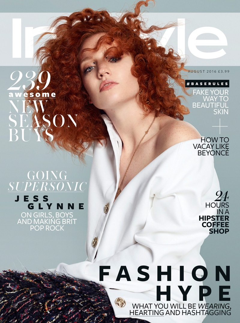 Jess Glynne on InStyle UK August 2016 Cover