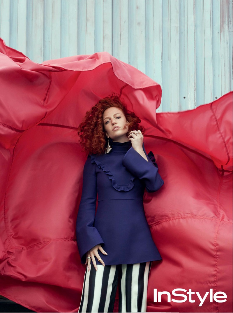 Jess Glynne Stars in InStyle UK, Talks Dealing with Fame