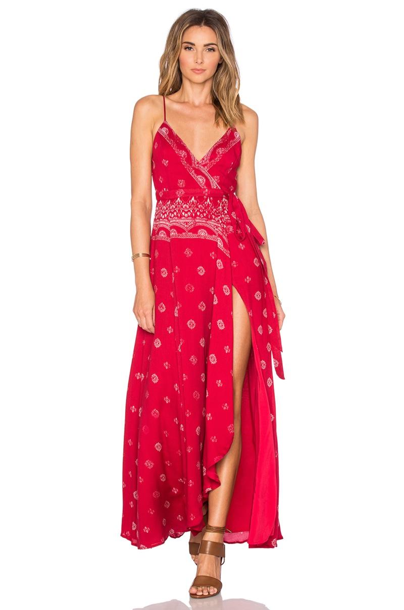 The Jetset Diaries Fuego Maxi Dress