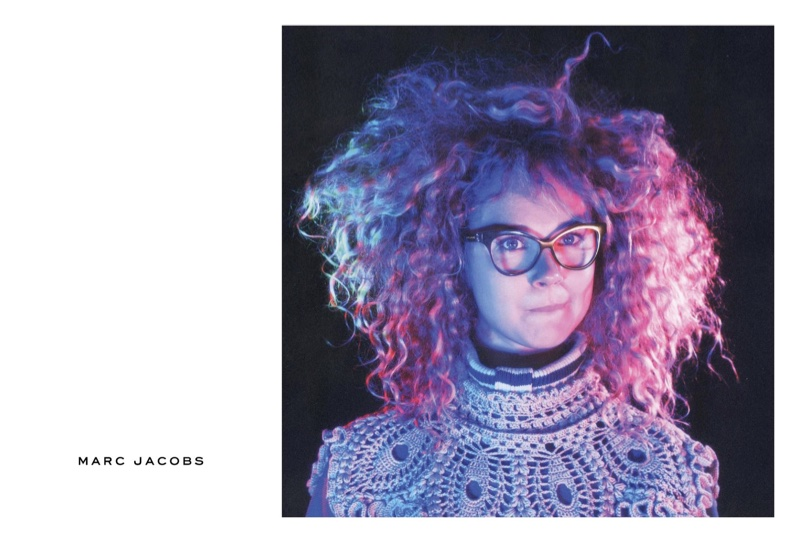 Juno Temple appears in Marc Jacobs' fall-winter 2016 campaign