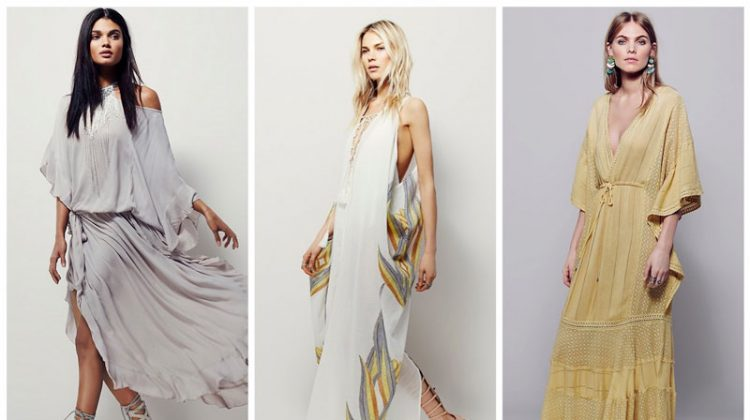 Boho Dreamin': 9 Glamorous Kaftan Dresses
