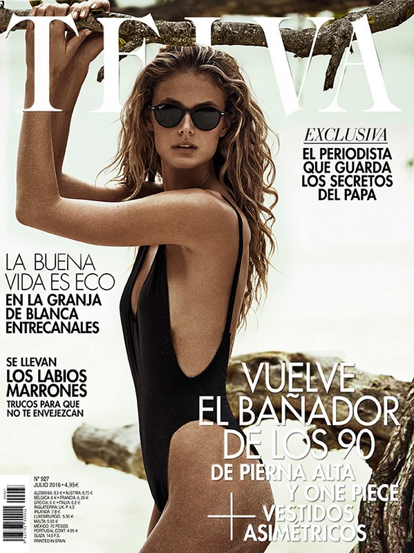 Kate Bock on TELVA Magazine July 2016 Cover