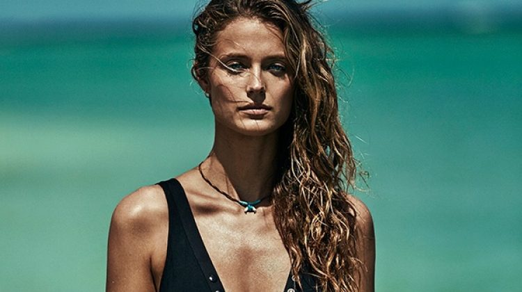 Kate Bock is the Ultimate Beach Babe in TELVA Magazine