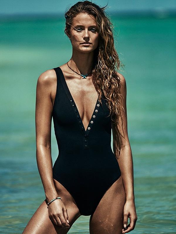 Kate Bock is the Ultimate Beach Babe in TELVA Magazine