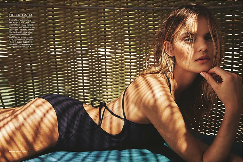 Kate Grigorieva stars in glamour UK's June issue