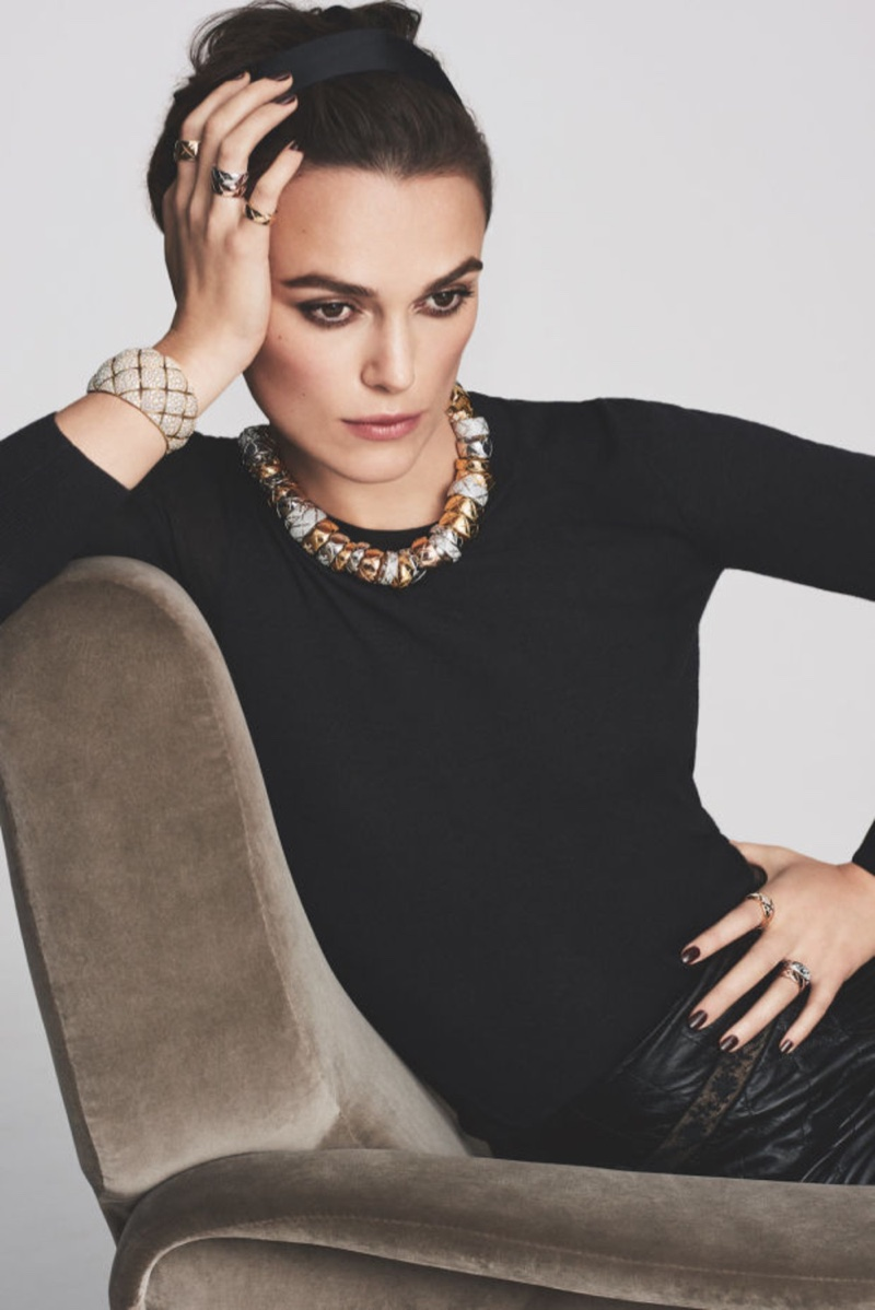 Keira Knightley has been announced as the face of Chanel Fine Jewelry