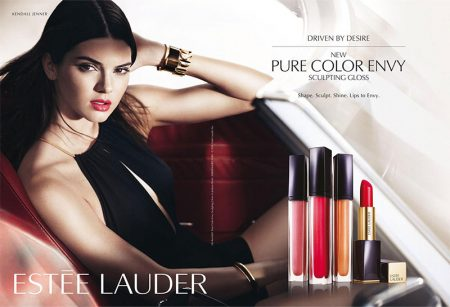 Kendall Jenner stars in Estee Lauder's Pure Color Envy Sculpting Gloss