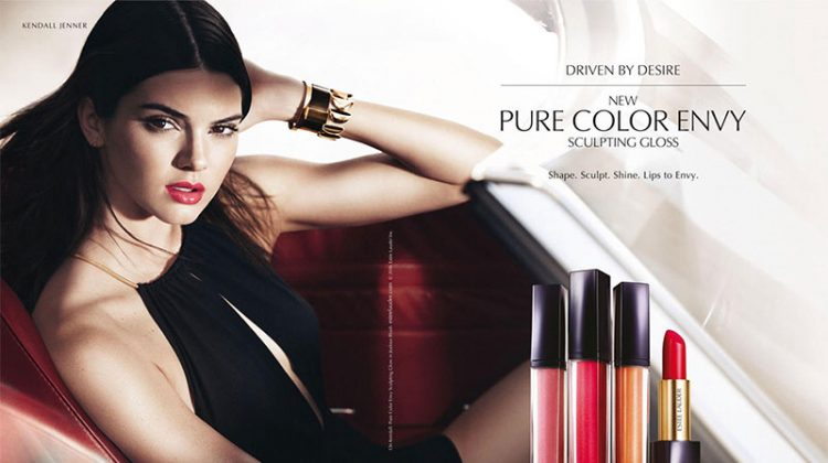 Kendall Jenner Turns Up the Glam in New Estee Lauder Ads