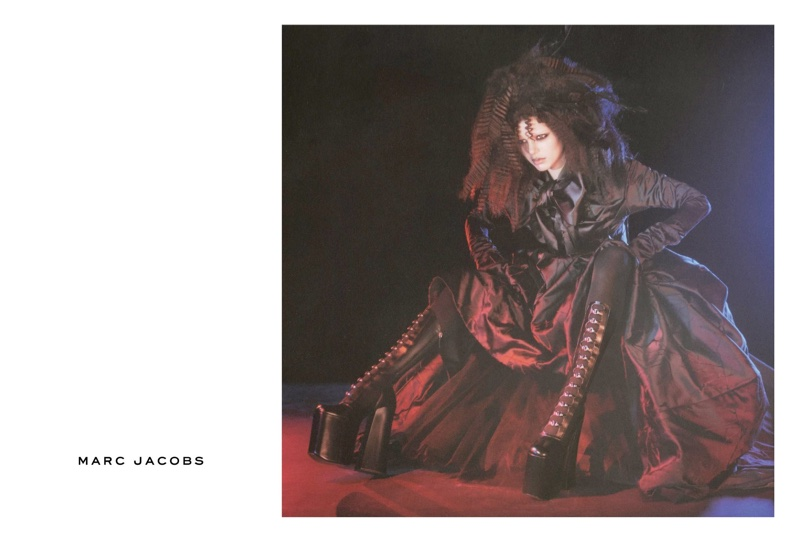 Kendall Jenner, Courtney Love Go Goth for Marc Jacobs' Fall 2016 Campaign
