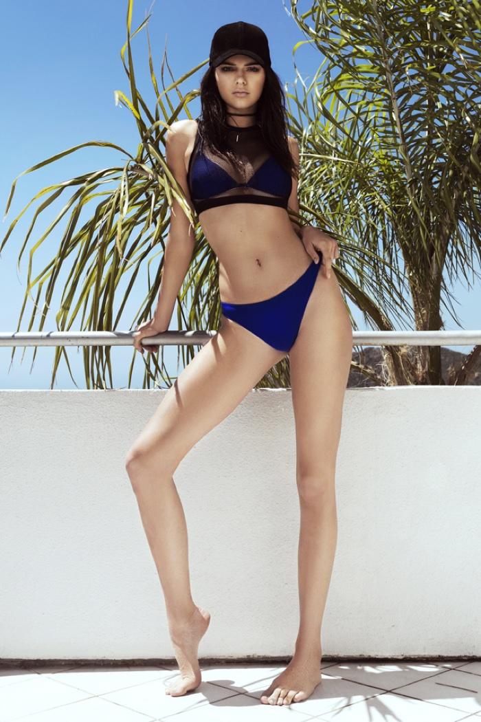 64c991eafb5cb Kendall + Kylie Metallic Harness Swimsuit · Kendall + Kylie Double Layered  Mesh Bikini Top and Bottom