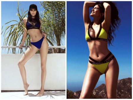 Just Landed: Kendall + Kylie Jenner Sizzle with Topshop Swimsuit Line