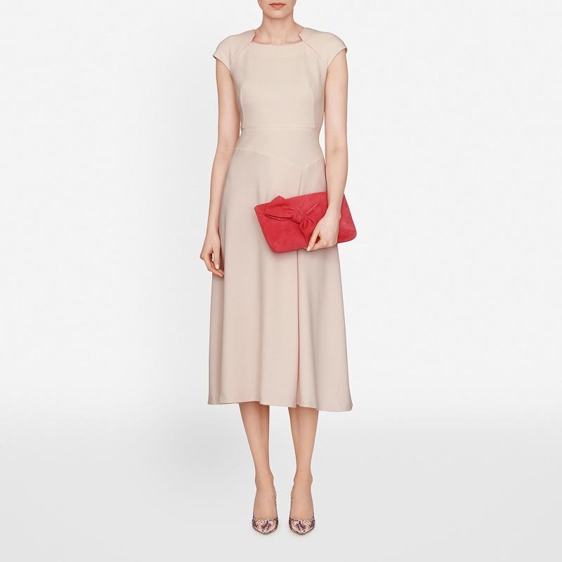 L.K. Bennett Elize Cap Sleeve Dress