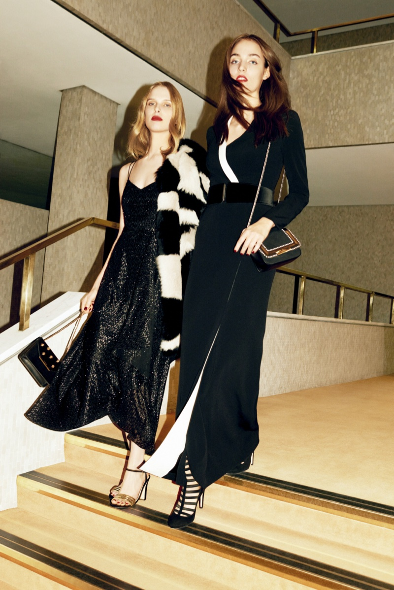 L.K. Bennett features evening wear in fall 2016 campaign