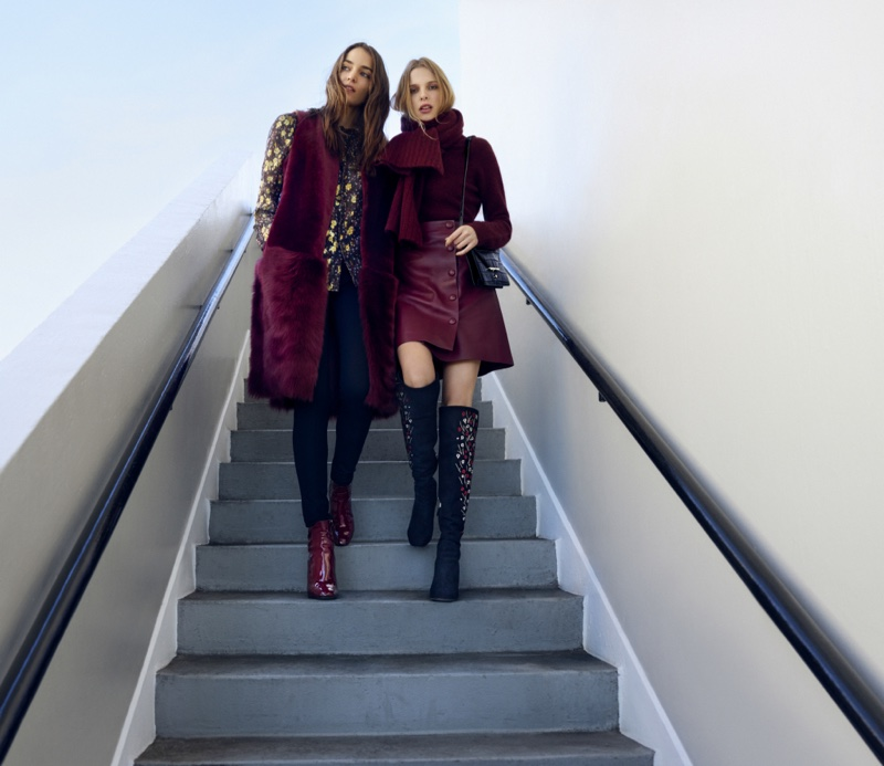 An image from L.K. Bennett's fall-winter 2016 campaign