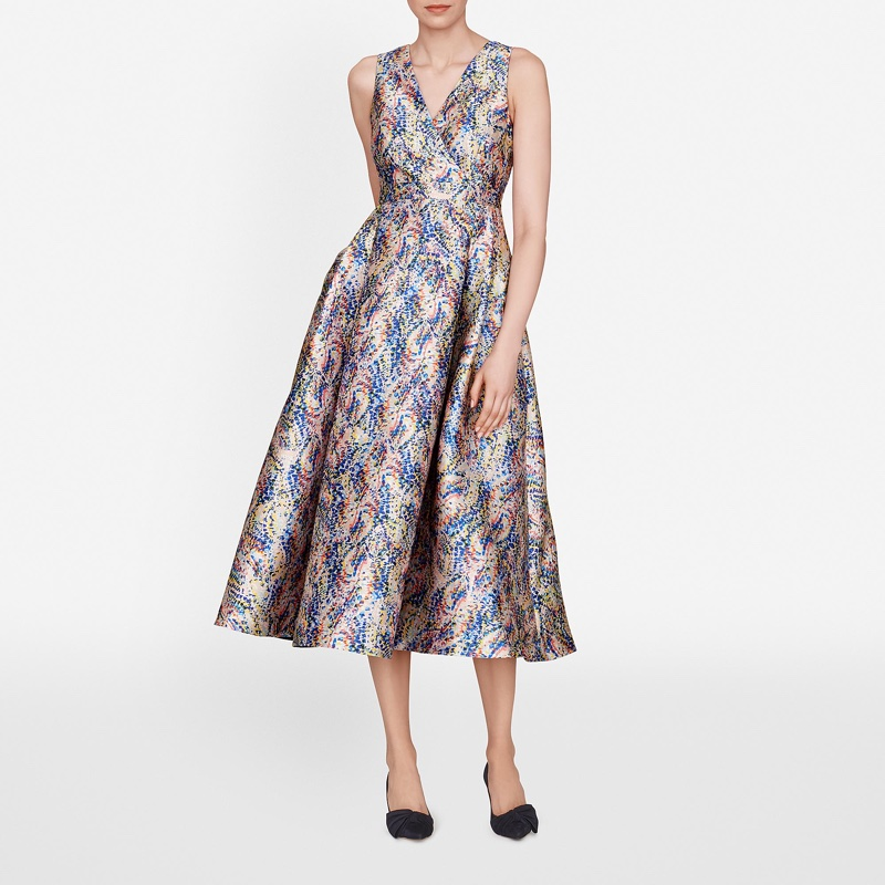 L.K. Bennett Sulan Printed Dress