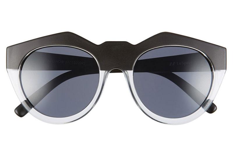 Le Specs Neo Noir Oversized Sunglasses