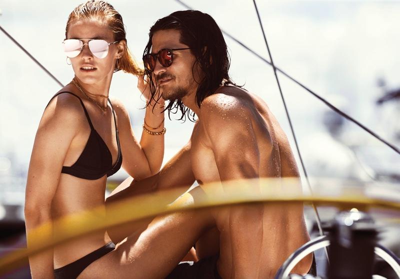 Le Specs features The Prince aviator sunglasses