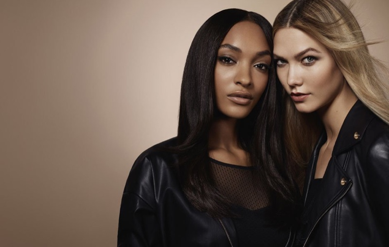 Jourdan Dunn and Karlie Kloss appear in Liu Jo's #StrongTogether campaign