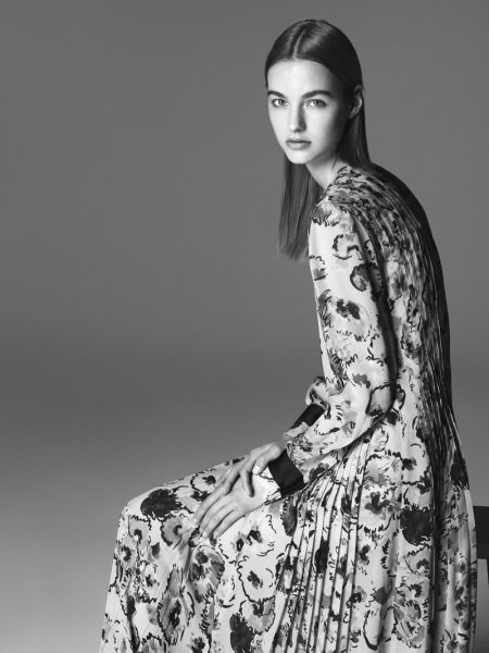 Giorgio Armani Goes Black & White for Fall '16 Campaign