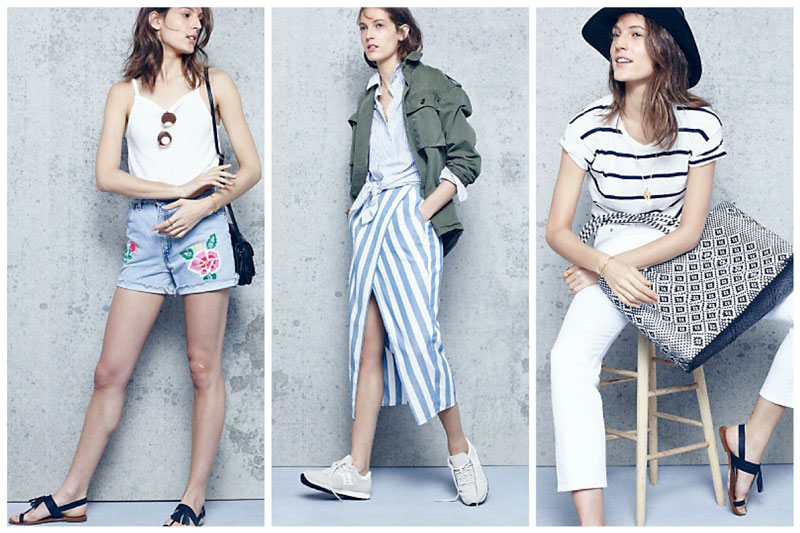 Just Landed: JM Drygoods & Madewell's Summer Collection Celebrates Vintage Style