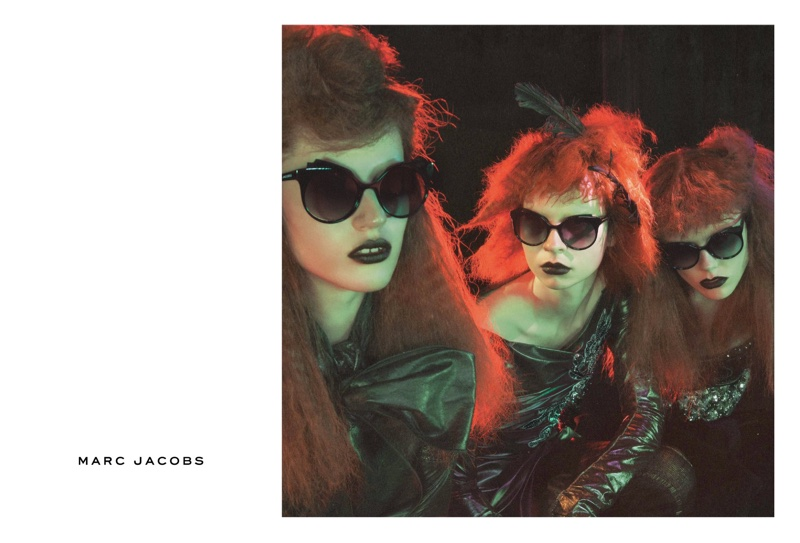 Julia, Willy and Kiki star in Marc Jacobs' fall-winter 2016 advertising campaign