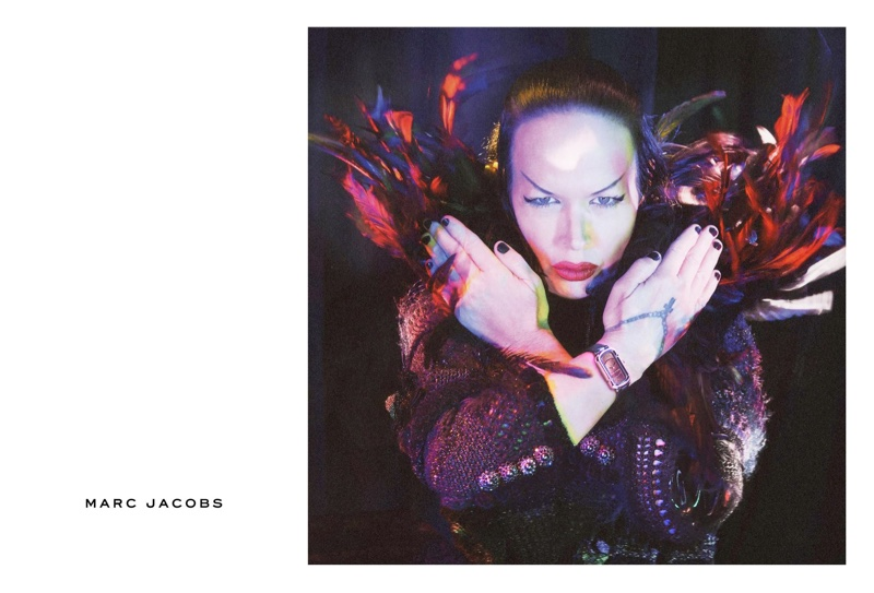 Kembra Pfahler stars in Marc Jacobs' fall-winter 2016 campaign